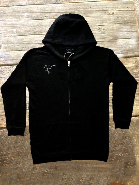 **New** Hemp tribal hooded sweatshirt!  Designed in California with comfort, durability and a natural body armor in mind. The natural hemp terry fabric blend is soft has a casual fit, longer cut keeping you warm with a great fit. They have the performance of a synthetic fabric yet they are natural and assembled with strong YKK hardware. They keep you cool in the summer and warm in the winter. The durable, strong and porous micro hemp fiber structure allows natural breathability and absorbency to quickly wick away moisture from your skin and airflow dries the remainder to help balance body moisture. The more you wash and wear them the softer they become for you to enjoy for years to come. A natural planet friendly product that goes back to the earth when your done with it.  *Pre-orders ship in February 2019  55% HEMP 45% ORGANIC COTTON ORGANIC UV RESISTANT ANTIMICROBIAL  VERSATILE  ECO AZO FREE DYE SOFT TOUCH HYPOALLERGENIC  DURABLE BREATHABLE REINFORCED STITCHING SUSTAINABLE  BIODEGRADABLE  MOLD RESISTANT MILDEW RESISTANT ECO FRIENDLY MULTIPLE DAY USE