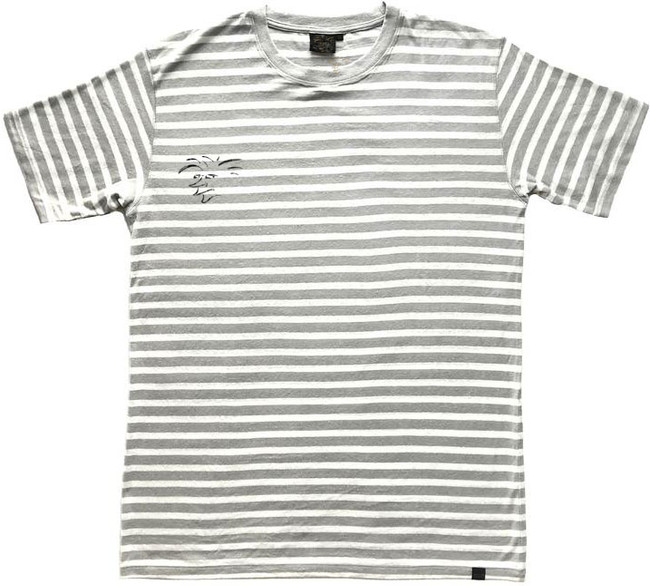 The Salty Surfer stone stripes t-shirt armors are designed in California with comfort, durability and a natural body armor in mind. They feel soft and silky smooth, have a casual fit, longer cut with reinforced stitching. They have the performance of a synthetic yet they are natural. They keep you cool in the summer and warm in the winter. The durable, strong and porous micro hemp fiber structure allows natural breathability and absorbency to quickly wick away moisture from your skin and airflow dries the remainder to help balance body moisture. TSS Hemp shirts wear in not out! The more you wash and wear them the softer they become for you to enjoy for years to come. A natural planet friendly product that goes back to the earth when your done with it.     55% HEMP 45% ORGANIC COTTON ORGANIC UV RESISTANT ANTIMICROBIAL  VERSATILE  ECO AZO FREE DYE SOFT TOUCH HYPOALLERGENIC  DURABLE BREATHABLE REINFORCED STITCHING SUSTAINABLE  BIODEGRADABLE  MOLD RESISTANT MILDEW RESISTANT ECO FRIENDLY MULTIPLE DAY USE