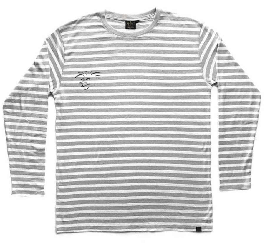 The Salty Surfer stone stripes long sleeve armors are designed in California with comfort, durability and a natural body armor in mind. They feel soft and silky smooth, have a casual fit, longer cut with reinforced stitching. They have the performance of a synthetic yet they are natural. They keep you cool in the summer and warm in the winter. The durable, strong and porous micro hemp fiber structure allows natural breathability and absorbency to quickly wick away moisture from your skin and airflow dries the remainder to help balance body moisture. TSS Hemp shirts wear in not out! The more you wash and wear them the softer they become for you to enjoy for years to come. A natural planet friendly product that goes back to the earth when your done with it.     55% HEMP 45% ORGANIC COTTON ORGANIC UV RESISTANT ANTIMICROBIAL  VERSATILE  ECO AZO FREE DYE SOFT TOUCH HYPOALLERGENIC  DURABLE BREATHABLE REINFORCED STITCHING SUSTAINABLE  BIODEGRADABLE  MOLD RESISTANT MILDEW RESISTANT ECO FRIENDLY MULTIPLE DAY USE