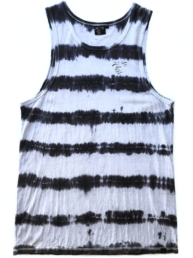 The Salty Surfer Stripes tie dye hemp tank top are designed in California with comfort, durability and a natural body armor in mind. Each is hand dyed in the USA giving you a unique design with every product. They feel soft and silky smooth, have a casual fit, longer cut with reinforced stitching. They have the performance of a synthetic yet they are natural. They keep you cool in the summer and warm in the winter. The durable, strong and porous micro hemp fiber structure allows natural breathability and absorbency to quickly wick away moisture from your skin and airflow dries the remainder to help balance body moisture. TSS Hemp shirts wear in not out! The more you wash and wear them the softer they become for you to enjoy for years to come. A natural planet friendly product that goes back to the earth when your done with it.     55% HEMP 45% ORGANIC COTTON | 6.4 OZ HAND DYED IN CALIFORNIA EACH IS UNIQUE ORGANIC UV RESISTANT ANTIMICROBIAL VERSATILE  ECO AZO FREE DYE SOFT TOUCH HYPOALLERGENIC DURABLE BREATHABLE REINFORCED STITCHING SUSTAINABLE  BIODEGRADABLE  MOLD RESISTANT MILDEW RESISTANT ECO FRIENDLY MULTIPLE DAY USE