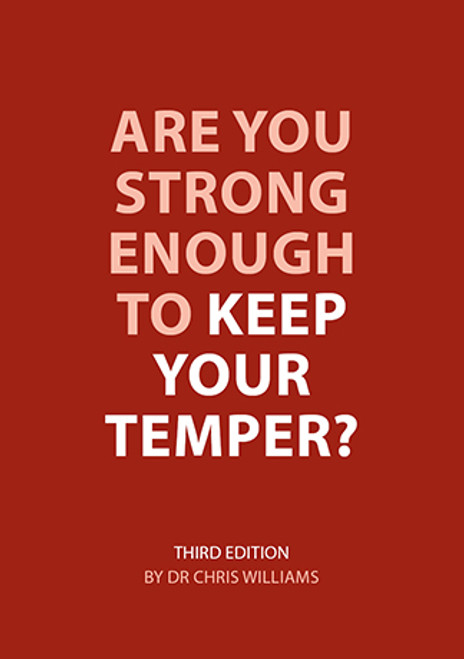 Are You Strong Enough To Keep Your Temper? booklet, third edition