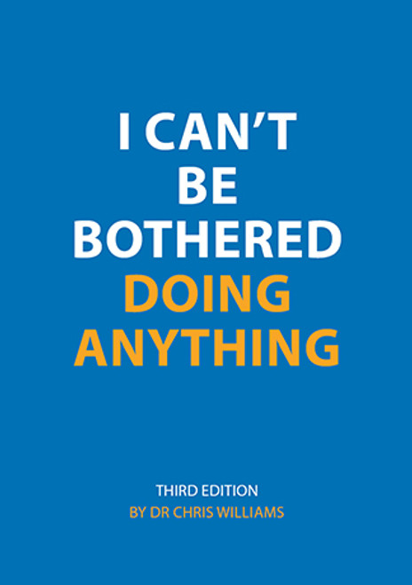 I Can't Be Bothered Doing Anything booklet, third edition