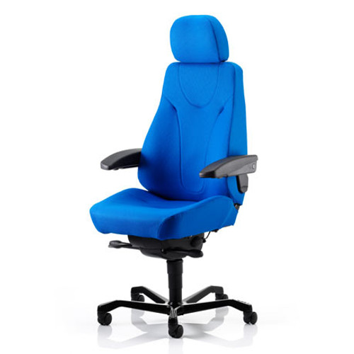 Director Workchair Xtreme Fabric, ergonomic back support