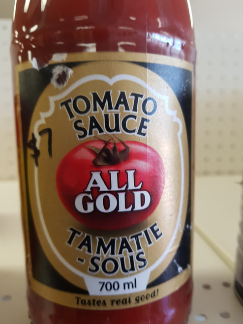 All gold tomatoe sauce 700ml