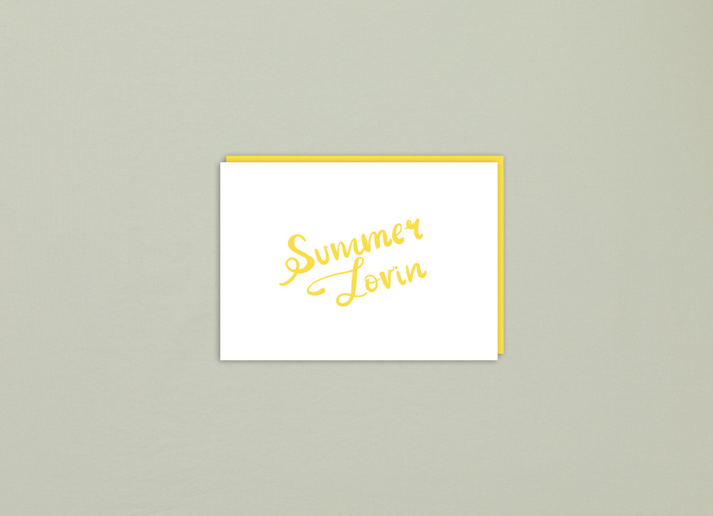 Greeting Card | Summer Lovin'