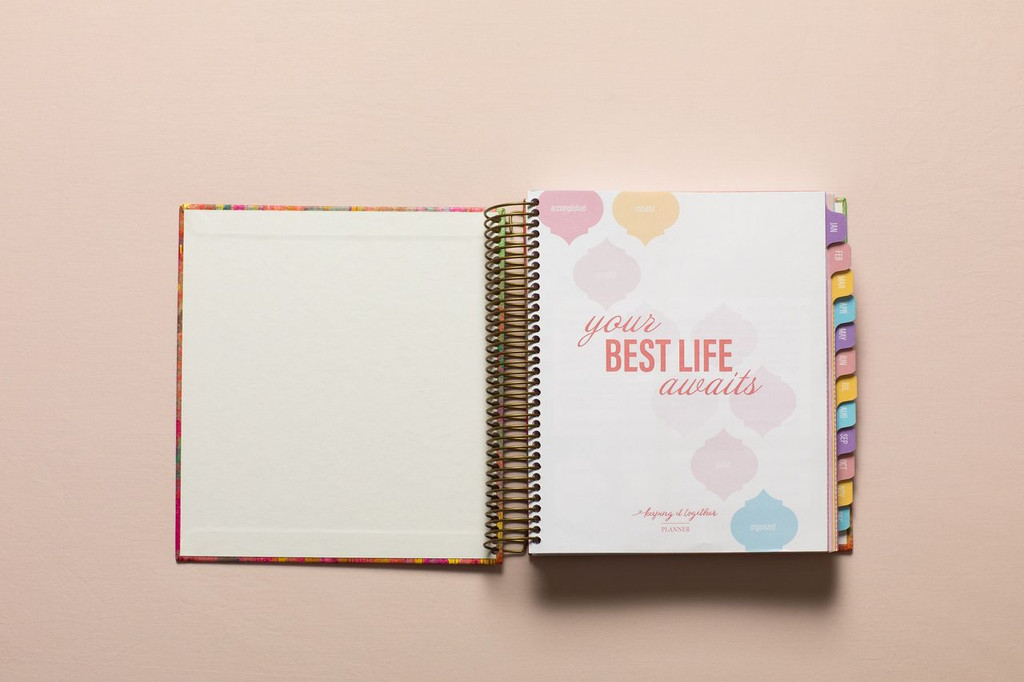 2019 keeping it together planner | your best life awaits