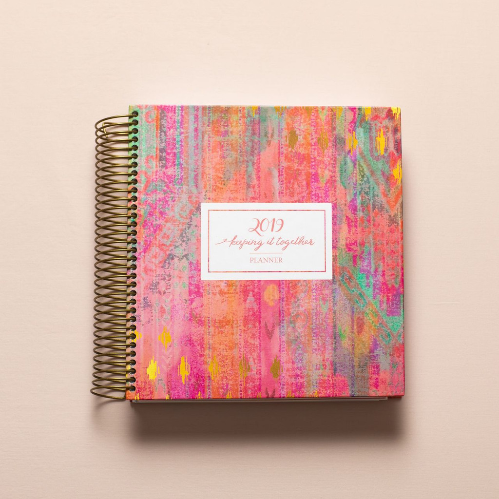 2019 daily keeping it together planner - classic cover