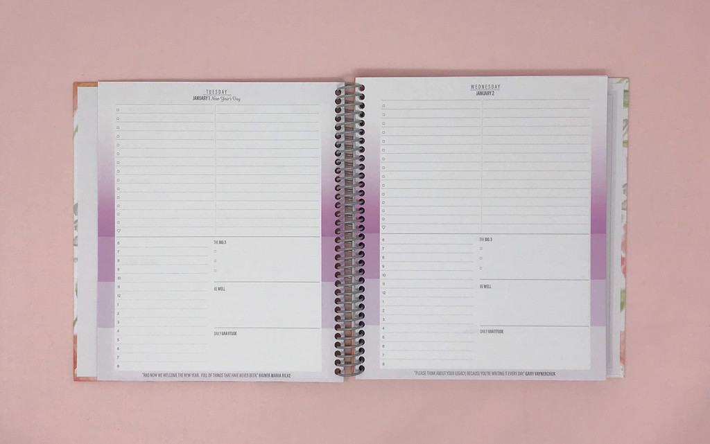 2019 Daily Keeping it Together Quarterly Planner | Classic