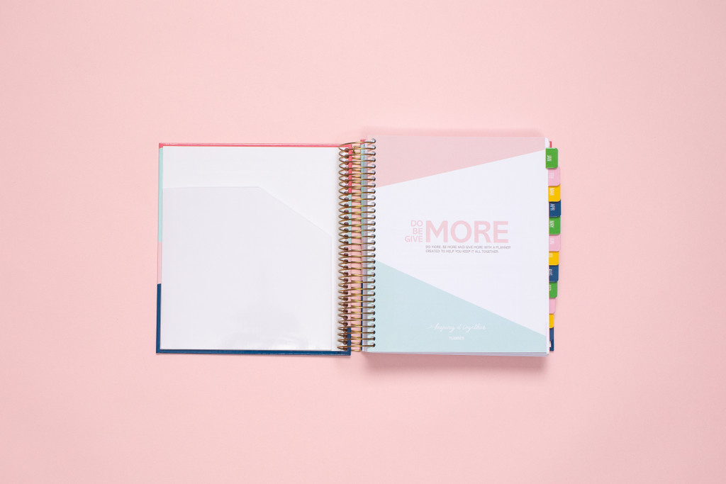 2020 Daily Planner by kitlife with hard cover in 6 differed design options. Front cover includes a pocket.