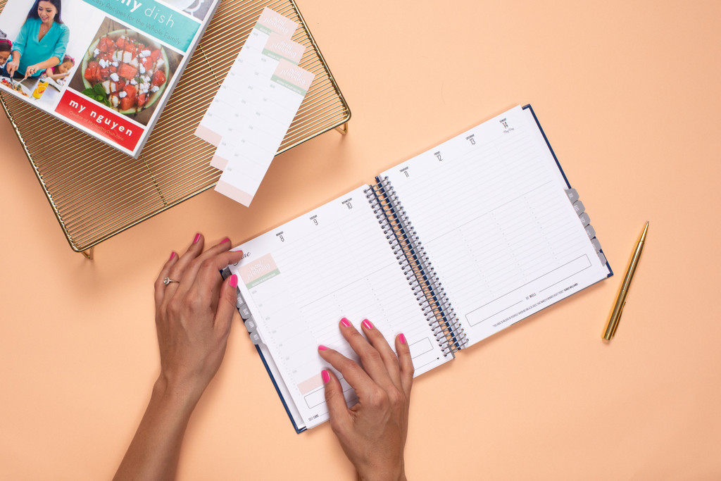 Meal Planning Tracker Stickers
