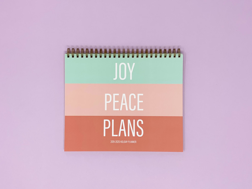 Holiday Planner - Colorblock