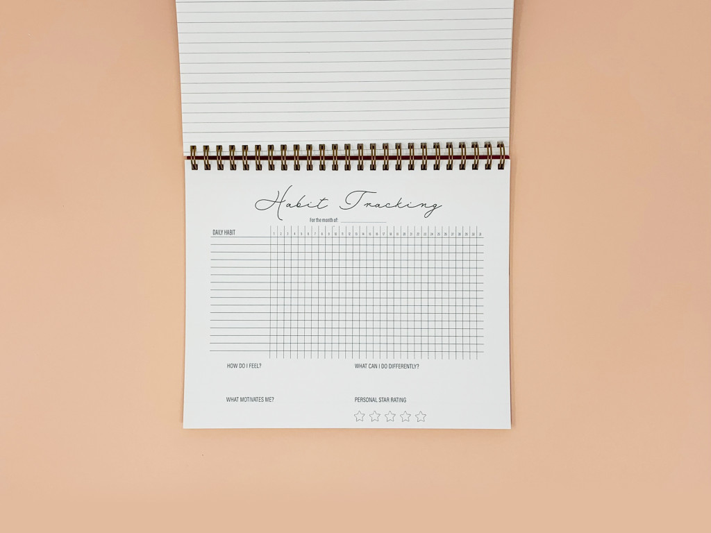 Habit Tracking Holiday Planner