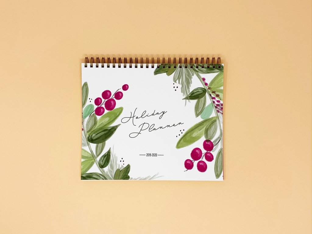 Holiday Planner - Traditional Holly