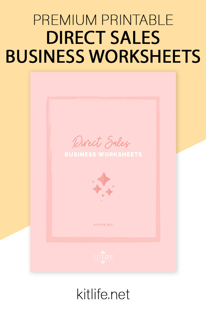 Direct Sales Business Worksheets