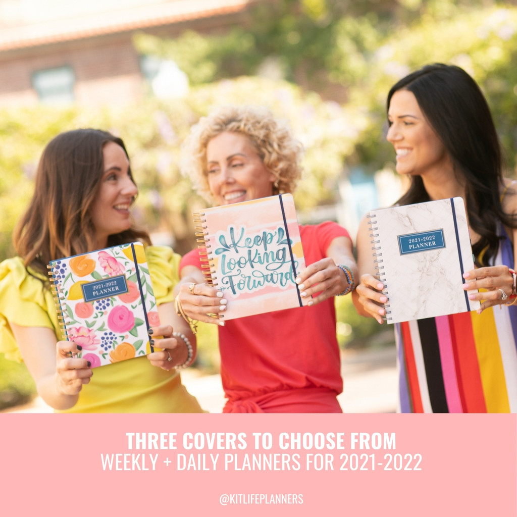 2021-2022 Daily Keeping it Together Planner   Floral