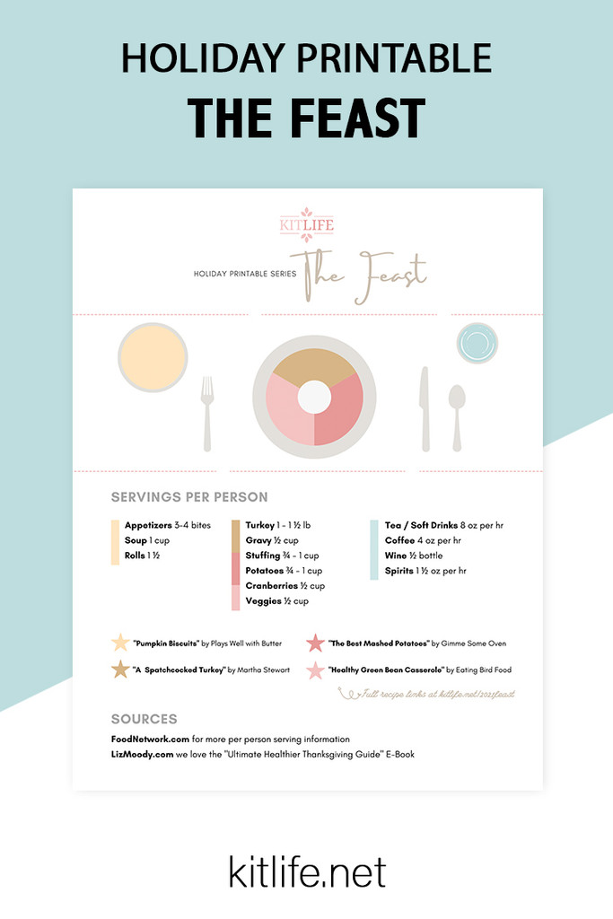 Free Printable Holiday Series | The Feast