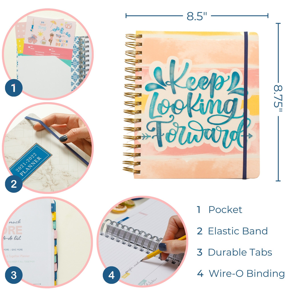 2021-2022 Daily Keeping it Together Planner   Quote