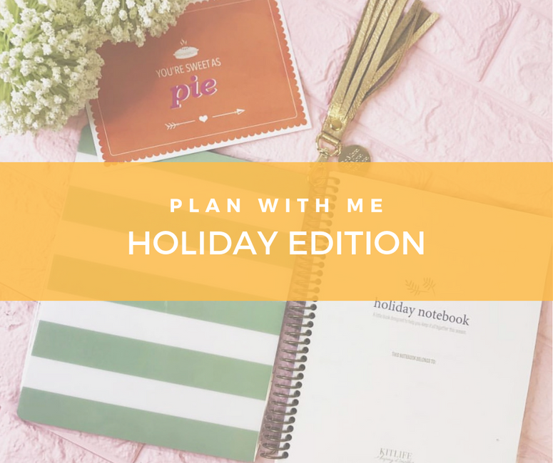 Plan with Me | Holiday Edition