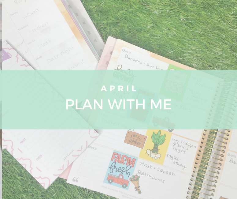 April Plan with Me | My Current Grocery Routine