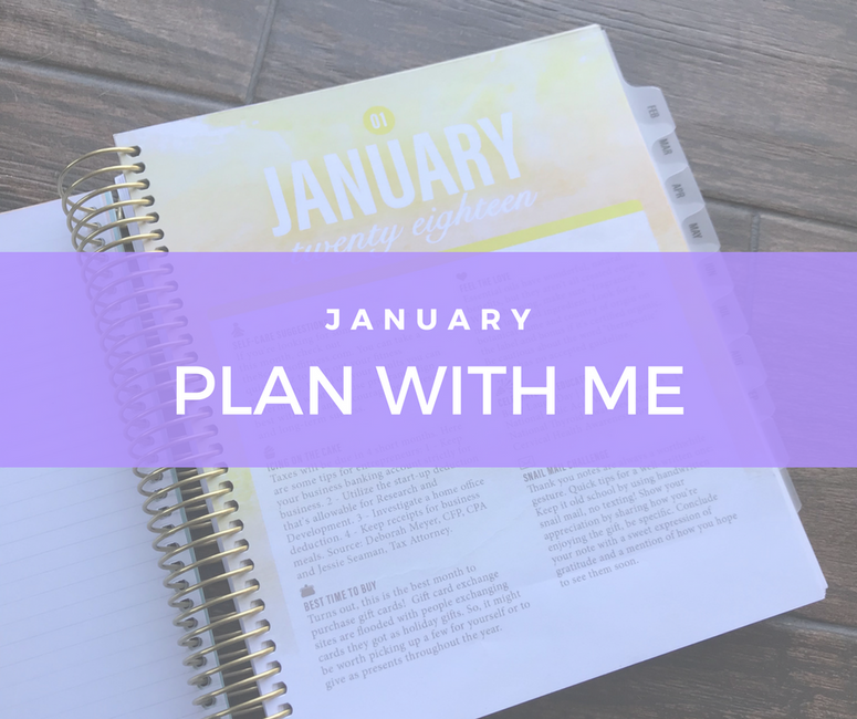 January | Plan with Me