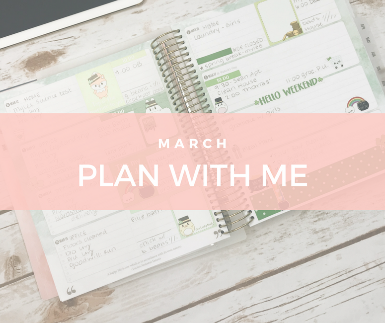 Plan with Me March