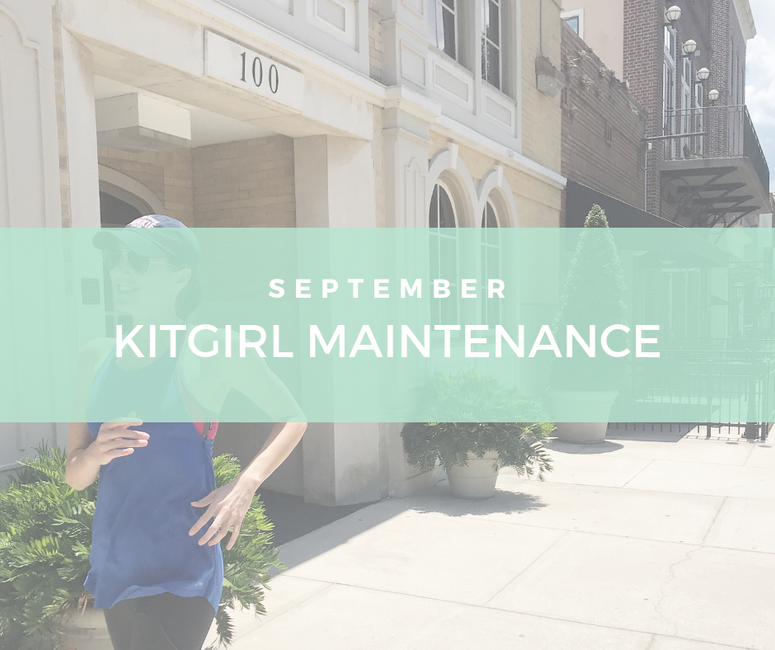 September Kitgirl Monthly Maintenance