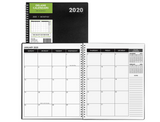 2020-2021 Monthly Delane Planner | Black