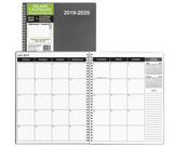 2019 - 2020 Monthly Delane Planner | Gray