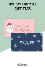 Free Printable Holiday Series | Gift Tags