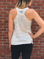 ruched back tank top