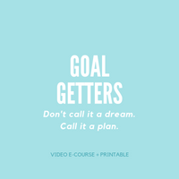 Goal Getters | Email Course