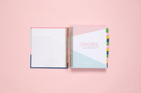 2020 Daily Planner by kitlife with a hard cover in 6 differed design options. Front cover includes a pocket.