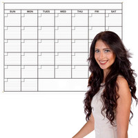 Monthly Wall Calendar - Extra Large