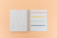 2020-2021 Undated Keeping it Together Planner | Floral