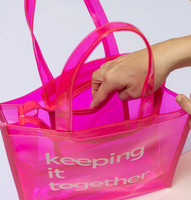 Keeping it Together | Pink Clear Tote