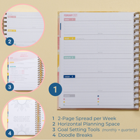 2021 Weekly Keeping it Together Planner | Floral