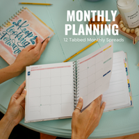 2021 Daily Keeping it Together Planner | Marble