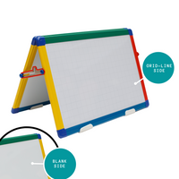 Desktop Easel Whiteboard - Colorful