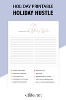 Free Printable Holiday Series | Holiday Hustle