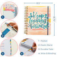 2021-2022 Daily Keeping it Together Planner | Quote