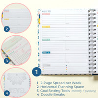 2021-2022 Weekly Keeping it Together Planner | Floral