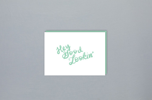 Folded Card: Hey Good Lookin'