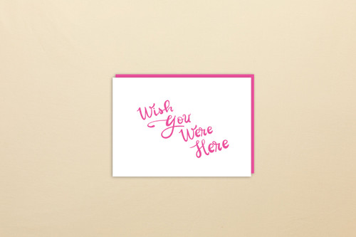 Greeting Card | Wish You Were Here