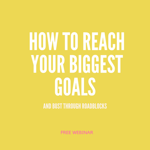 Quarter 4 is almost here, and it's not too late to reach your biggest goals! Join us for this Q&A filled webinar to get inspired and to learn some of the greatest tools for busting through those pesky roadblocks. There's nothing stopping you from reaching your dreams