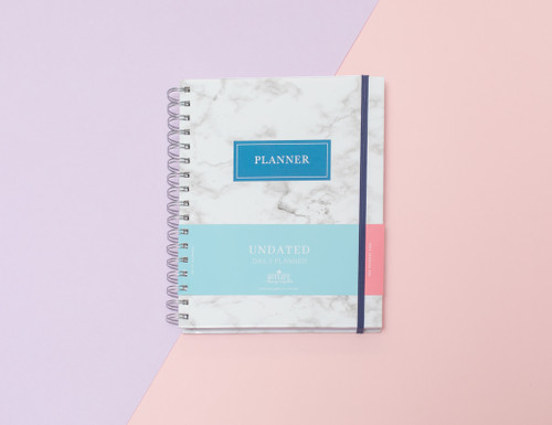 Undated Keeping it Together Planner | Marble