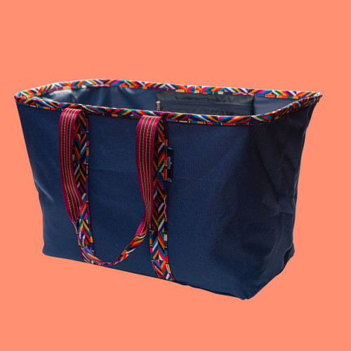 Collapsible Laundry Tote | Navy