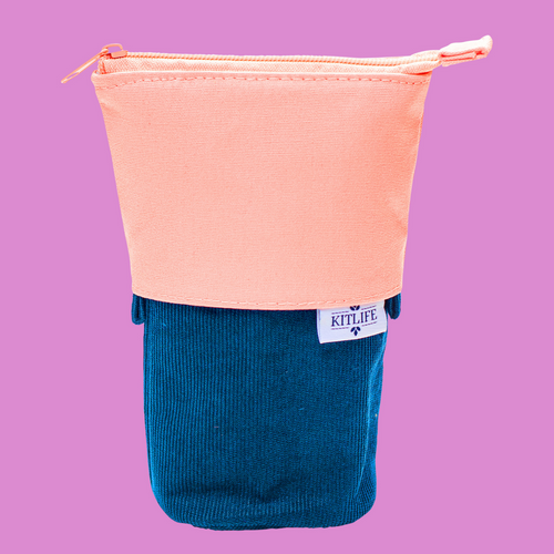 Pop-Up Pencil Pouch | Navy