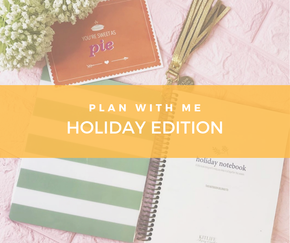Plan with Me   Holiday Edition