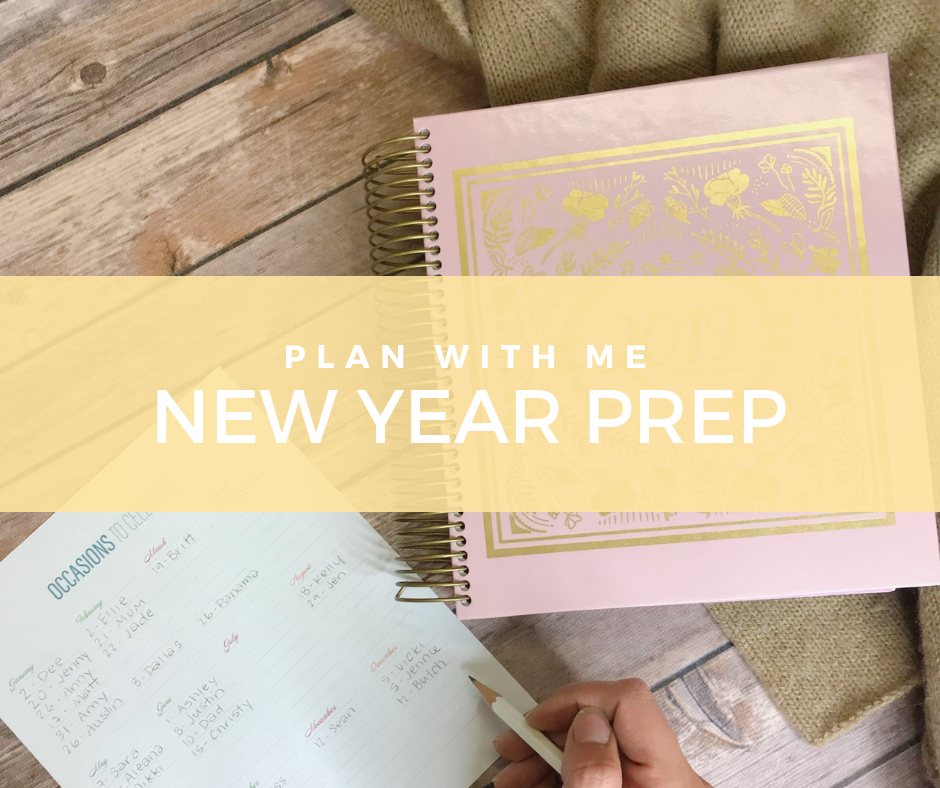 Plan with Me   Getting New Year Ready