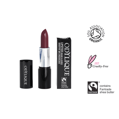 Organic Mineral Lipstick #20 - Blackberry Smoothie